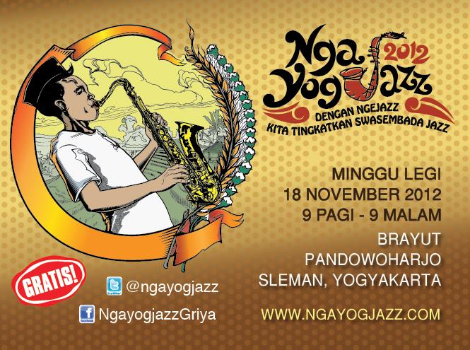 Poster Mobile Ngayogjazz 240x320pixel