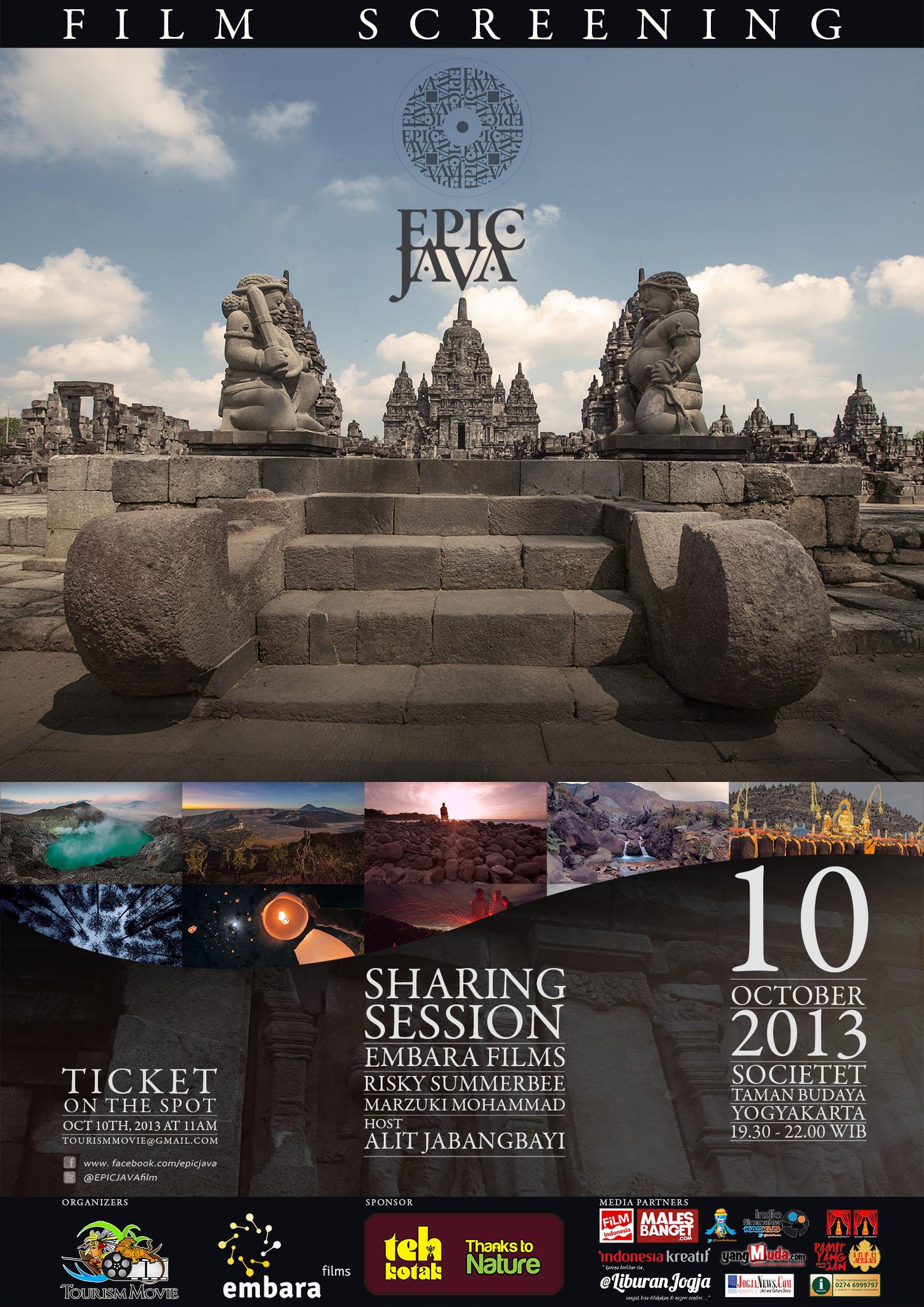 Poster Epic Java JOGJA Screening