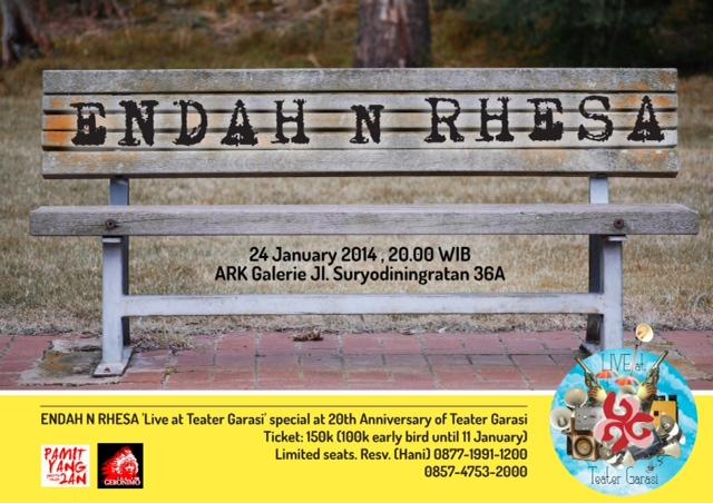 Poster Endah & Rhesa New