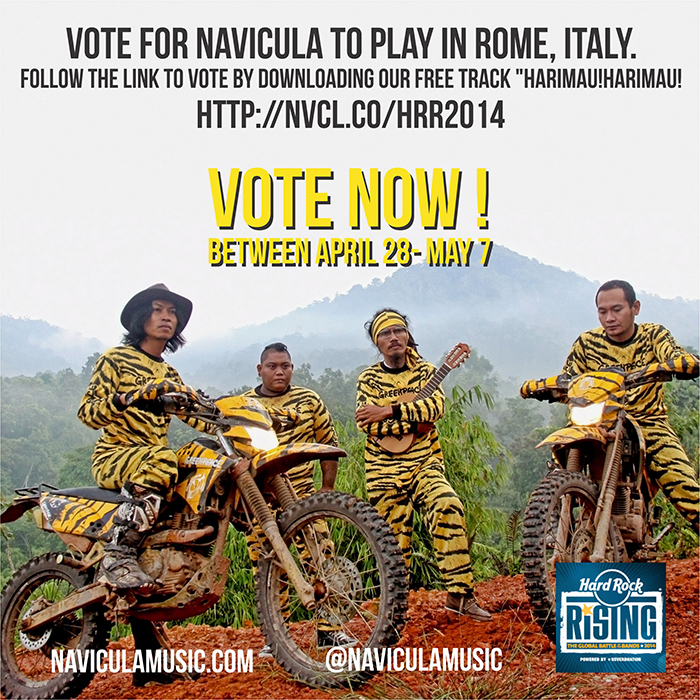 Vote Now- Navicula edit