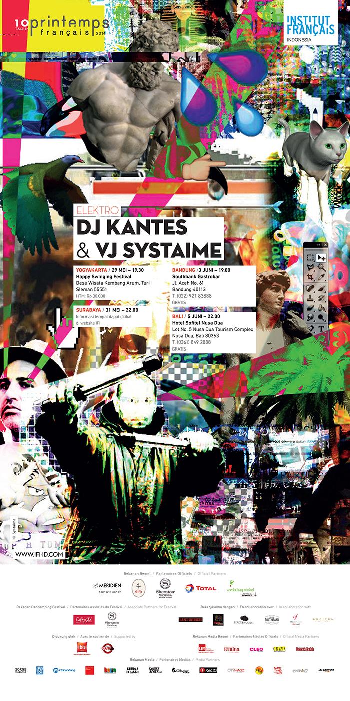 poster DJ Kantes edit