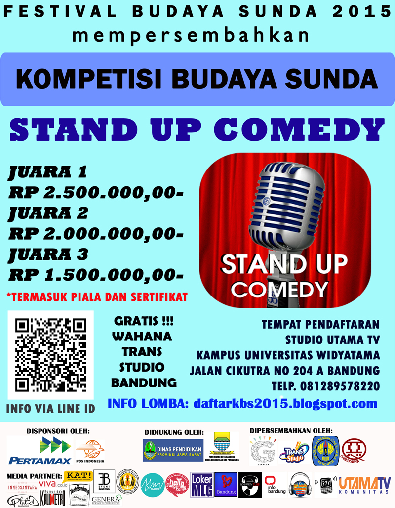 STAND UP COMEDY edit