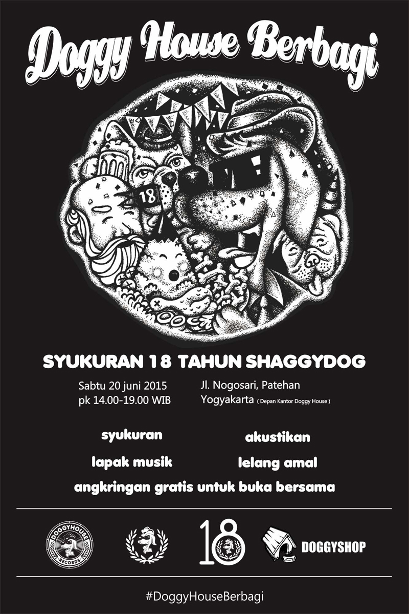 flyer DoggyHouse Berbagi edit
