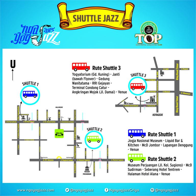 Peta ShuttleJazz