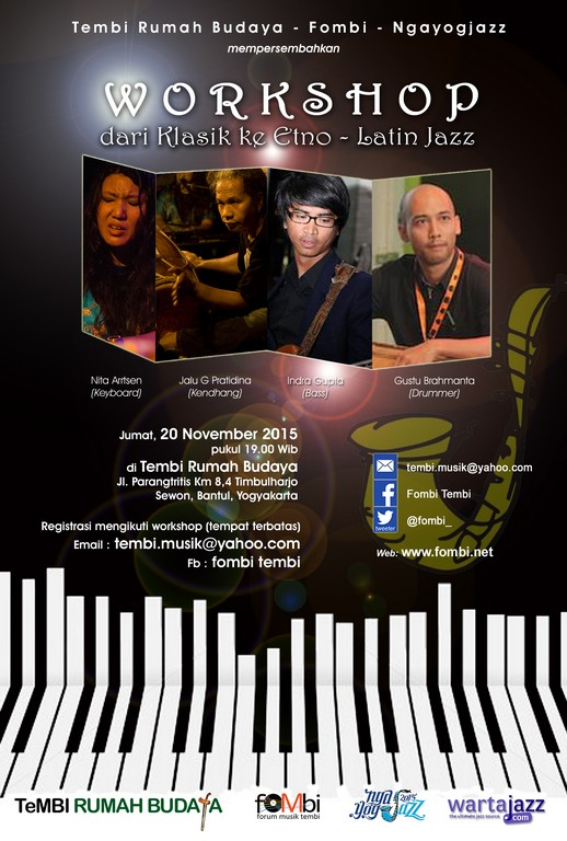 Poster Workshop Jazz