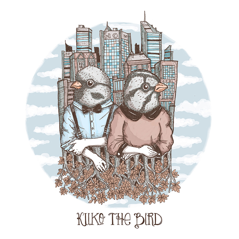 KUKO THE BIRD_artwork by Abe Wardana