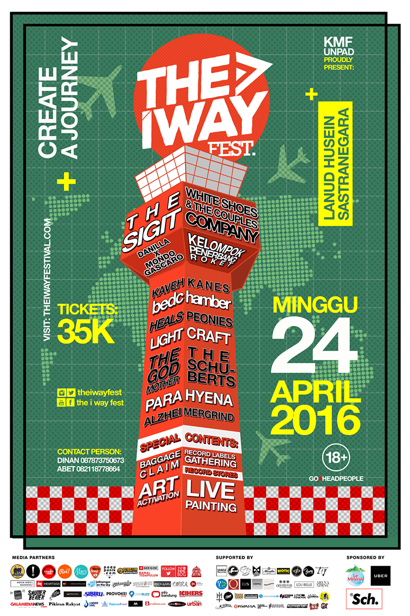 POSTER THE I WAY FESTIVAL