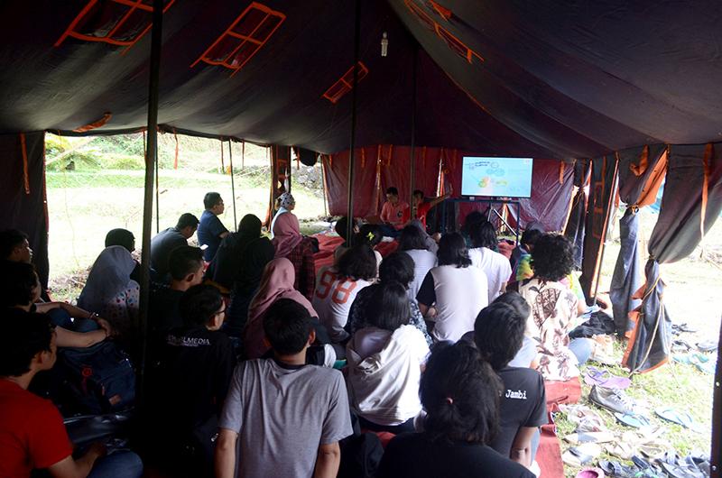 #TKFI2016 Suasana kelas distribusi dan teknologi