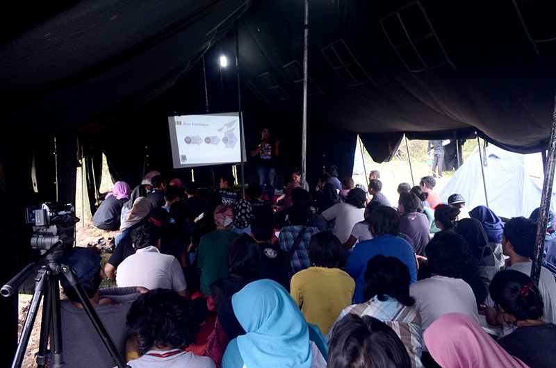 #TKFI2016 Suasana kelas pengelolaan festival dan pemutaran film