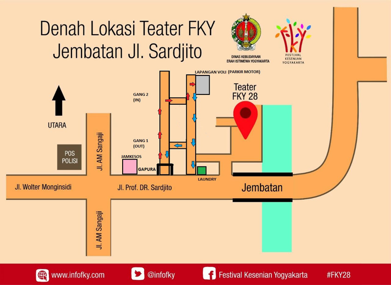 ePoster Denah Teater FKY 28