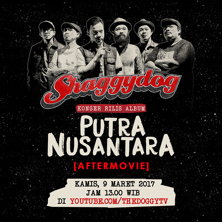 Flyer Konser Putra Nusantara Movie