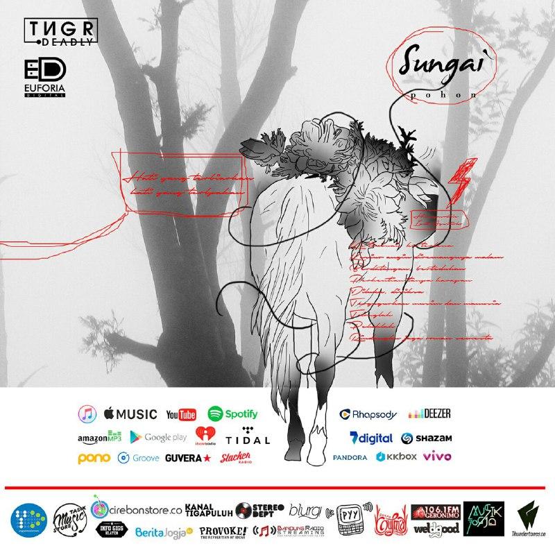 e-Flyer Sungai Rilis Pohon jelang Album Kedua