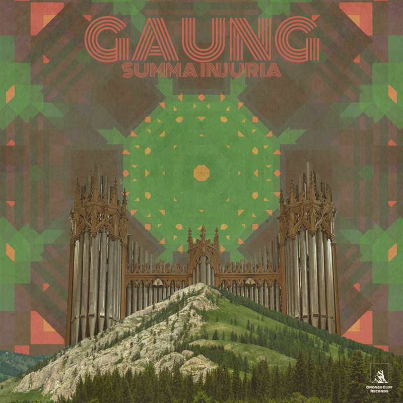 GAUNG - Summa Injuria cover art by Sean Kratzert