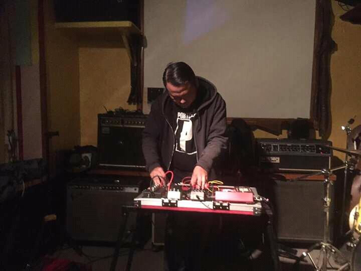 Indra Menus live at Asagaya Ten, Jepang
