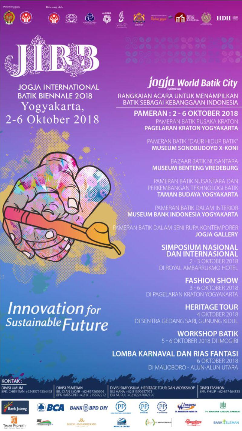 Jogja International Batik Biennale 2018 Pamityang2an